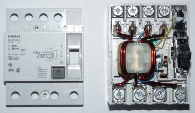 Was ist ein RCD in einem Elektriker? Das Gerät, Eigenschaften ...